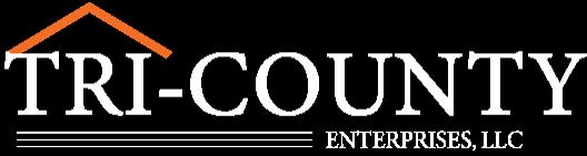 Tri-County Enterprises Logo White